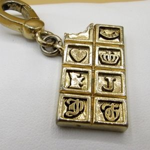 Rare Juicy Couture Chocolate Bar Charm